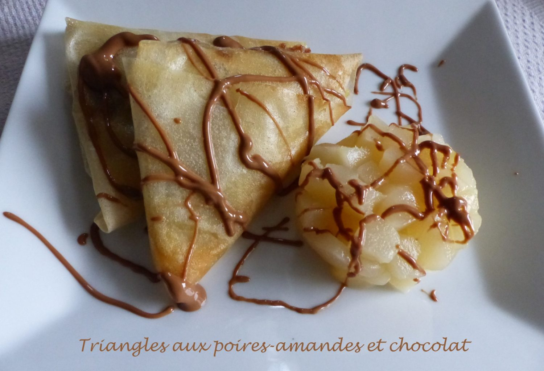 Triangles aux poires-amandes et chocolat P1130906 R