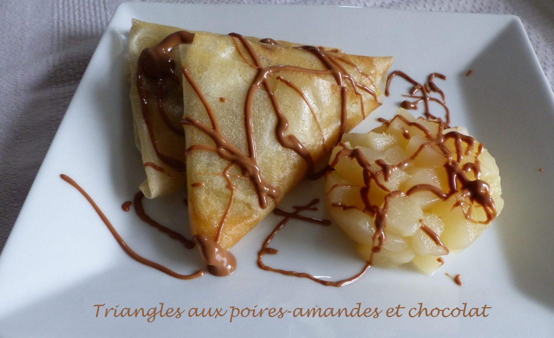 Triangles aux poires-amandes et chocolat P1130910 R