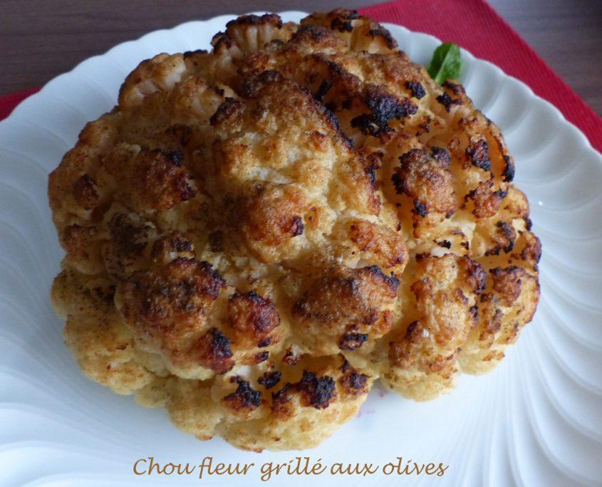 Chou fleur grillé aux olives P1140585 R