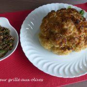Chou fleur grillé aux olives P1140586 R