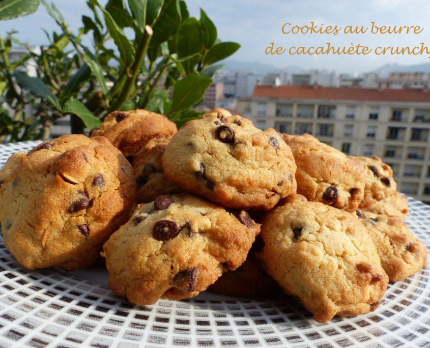 Cookies au beurre de cacahuète crunchy P1140252 R