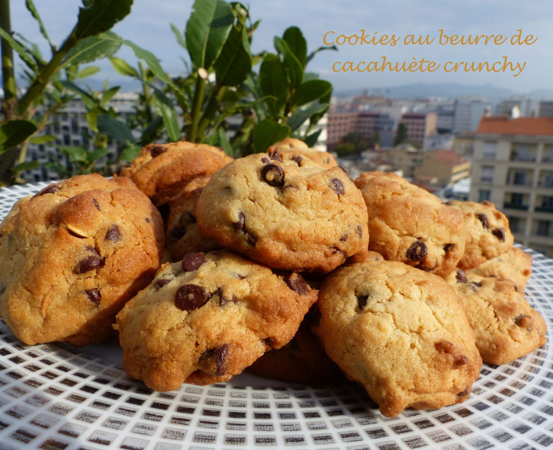 Cookies au beurre de cacahuète crunchy P1140253 R