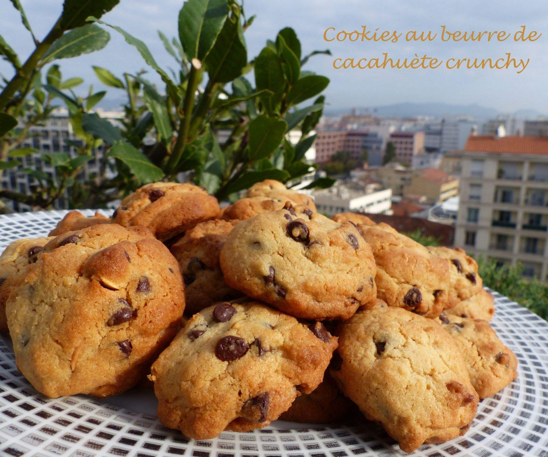 Cookies au beurre de cacahuète crunchy P1140254 R