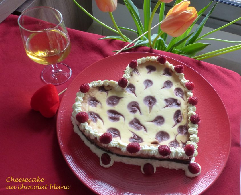 Cheesecake au chocolat blanc P1080855 R