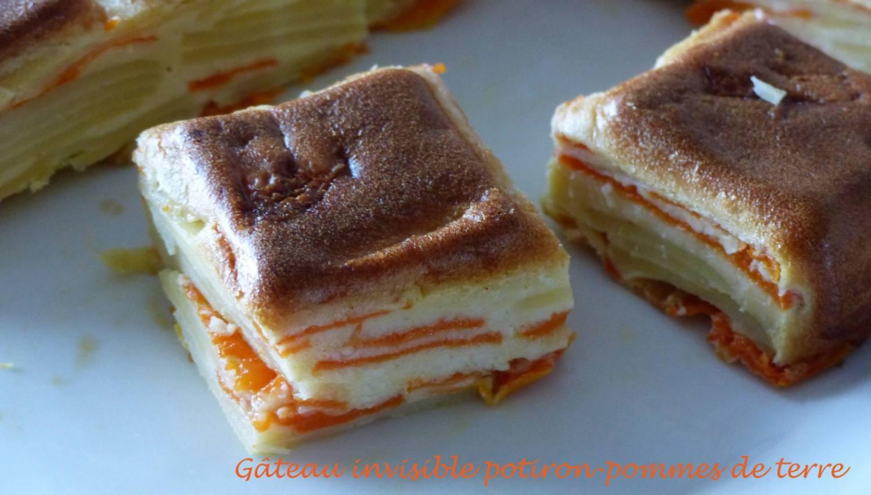 Gâteau invisible potiron-pommes de terre P1140362 R