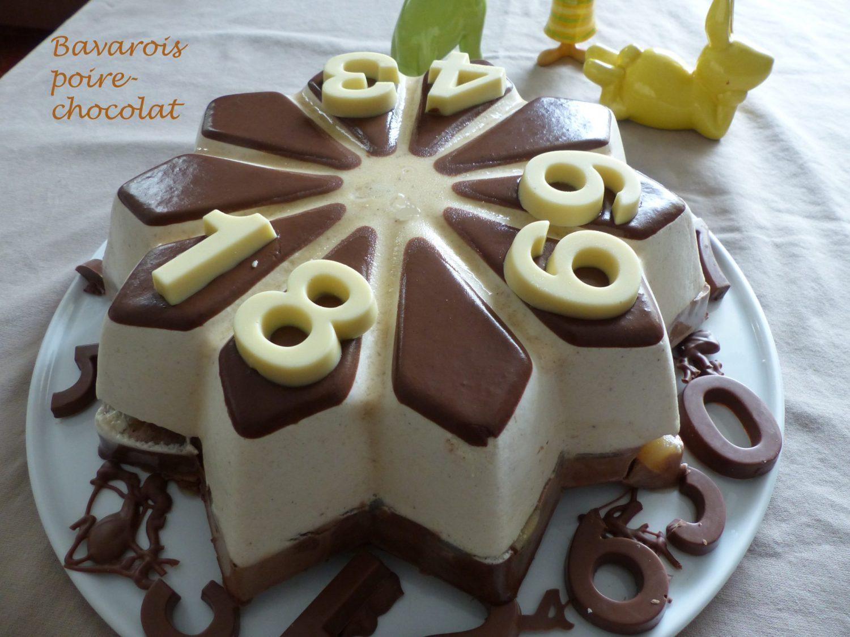 Bavarois poire-chocolat P1090892 R