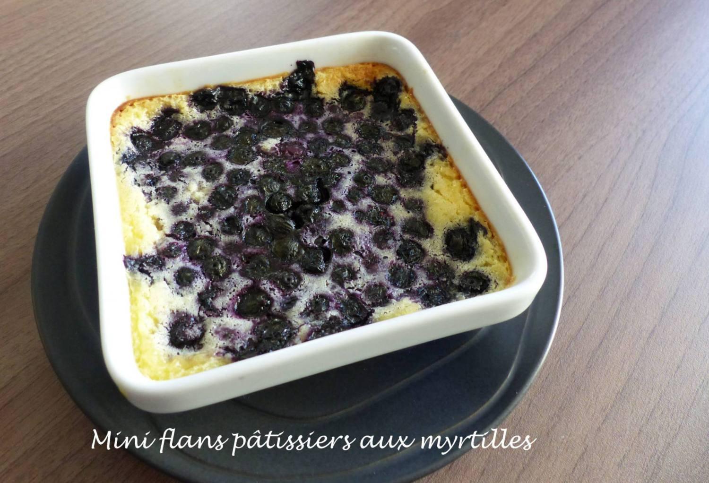 Mini flans pâtissiers aux myrtilles P1160233 R