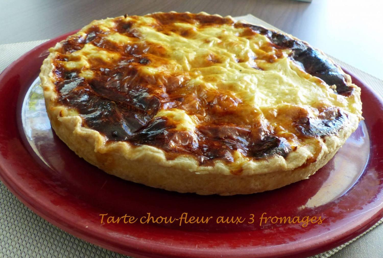 Tarte chou-fleur aux 3 fromages P1150910 R
