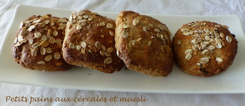 Petits pains aux céréales et muesli P1110487 R