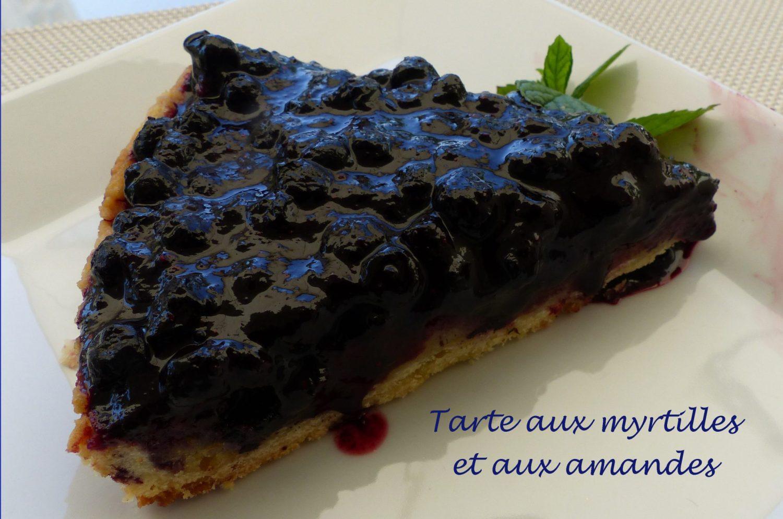 Tarte aux myrtilles et aux amandes P1110861 R
