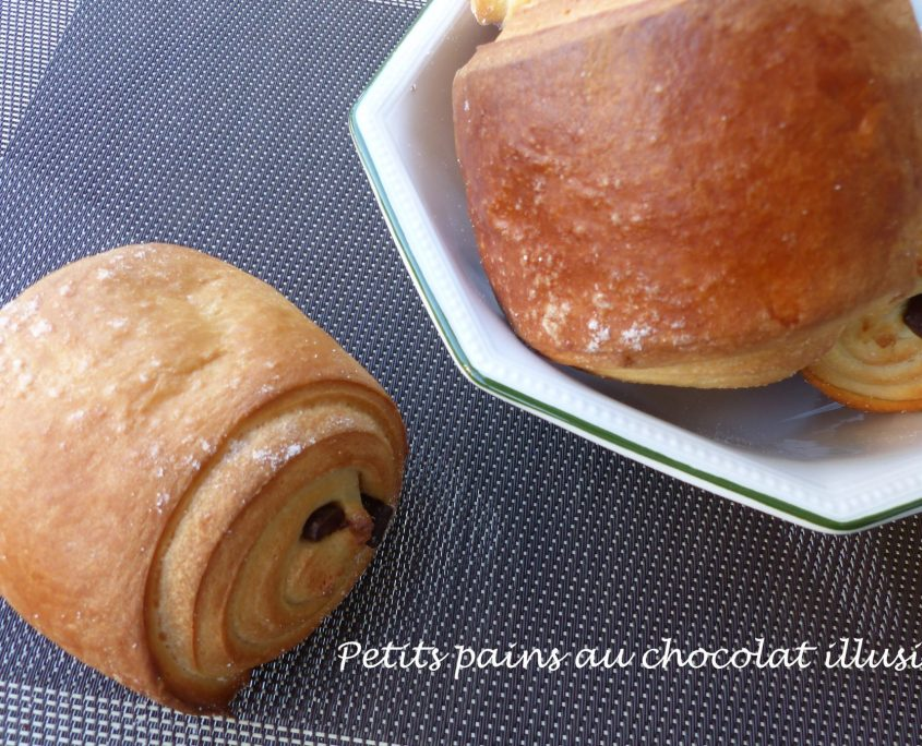Petits pains au chocolat illusion P1120396 R