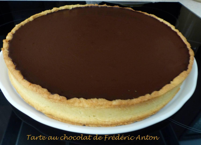 Tarte au chocolat de Frédéric Anton P1180483 R