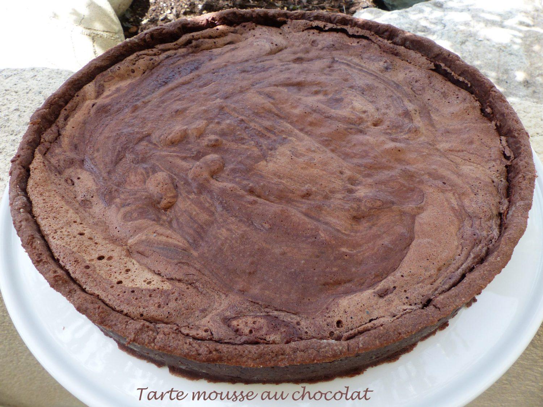 Tarte mousse au chocolat P1120263 R