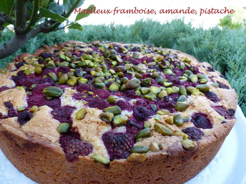 Moelleux framboise, amande, pistache P1180808 R