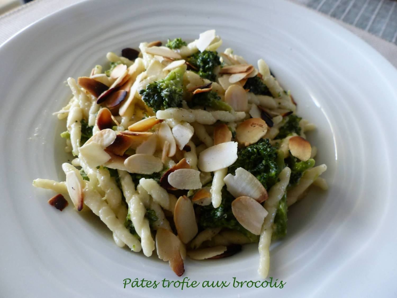 Pâtes trofie aux brocolis P1190939 R
