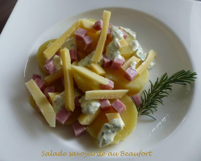 Salade savoyarde au Beaufort P1210041 R