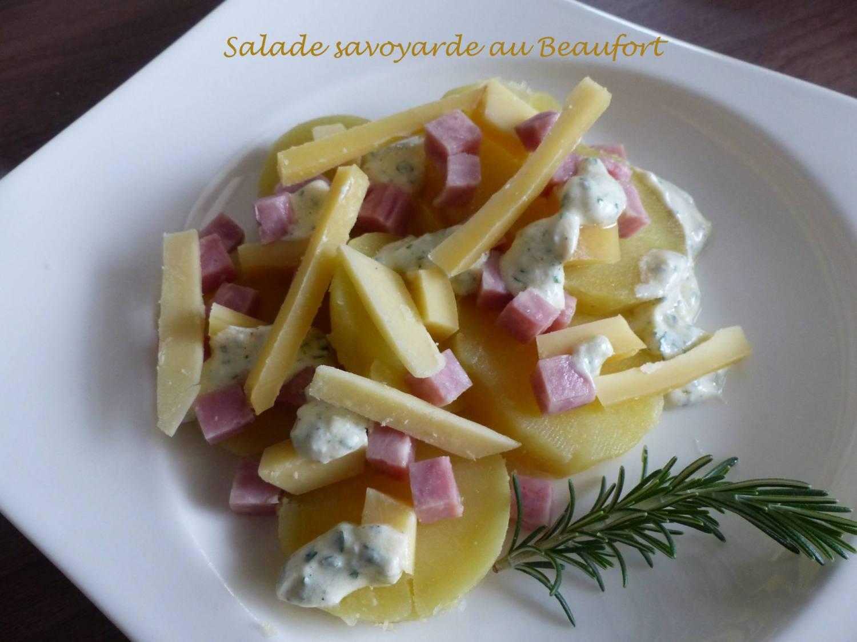 Salade savoyarde au Beaufort P1210043 R