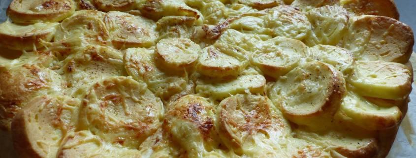 Tarte fine aux quenelles - P1190288