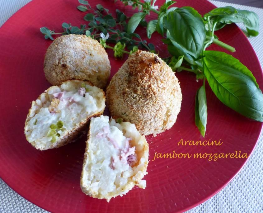 Arancini jambon mozzarella P1190840 R