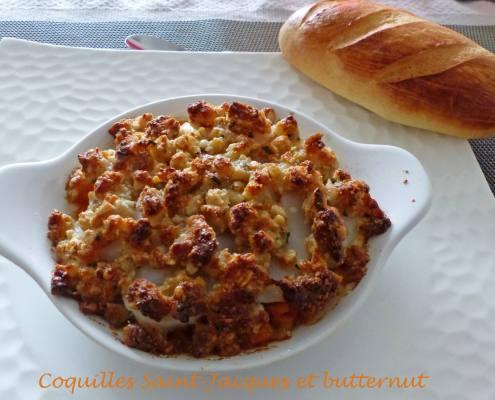 Coquilles Saint-Jacques et butternut P1150543 R