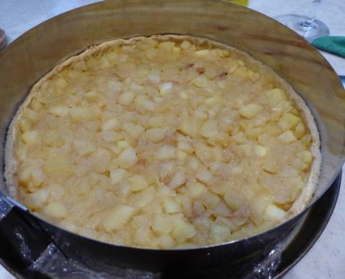 Entremets pomme-chiboust P1210845