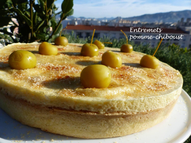 Entremets pomme-chiboust P1210946 R