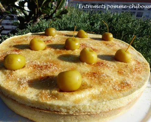 Entremets pomme-chiboust P1210947 R