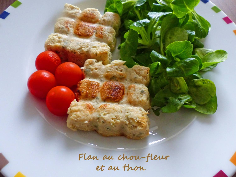 Flan au chou-fleur et au thon P1220395 R