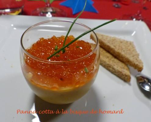 Panna cotta à la bisque de homard P1210923 R