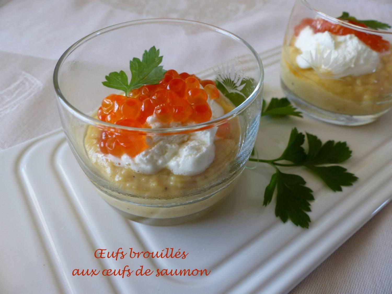 Œufs brouillés aux œufs de saumon P1150301 R
