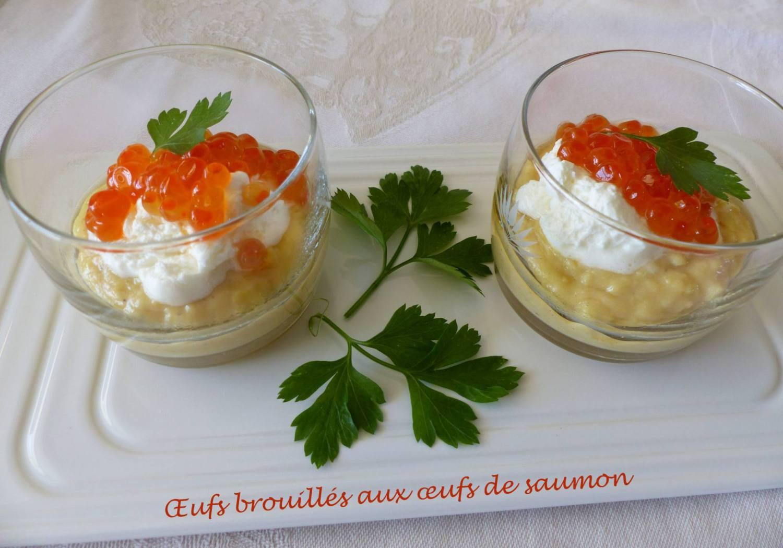 Œufs brouillés aux œufs de saumon P1150302 R