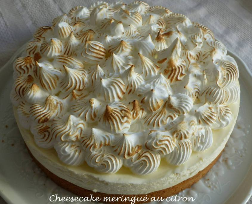 Cheesecake meringué au citron P1150850 R