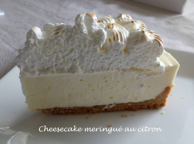 Cheesecake meringué au citron P1150855 R