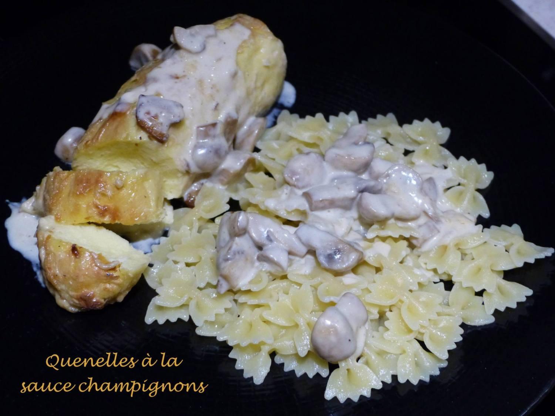 Quenelles à la sauce champignons P1160127 R