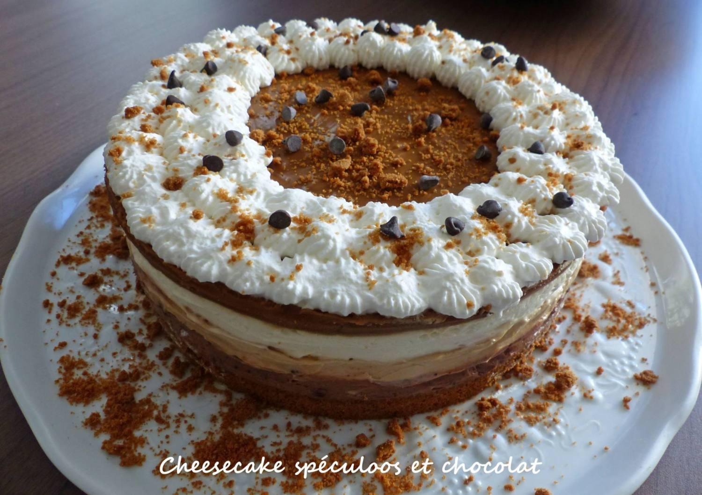 Cheesecake spéculoos et chocolat P1230111 R