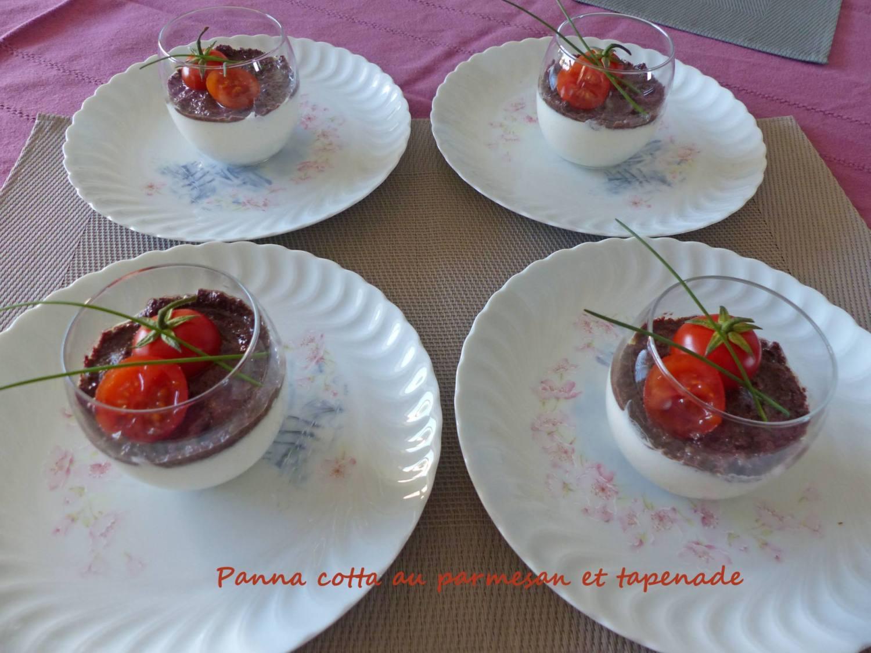 Panna cotta au parmesan et tapenade P1230051 R