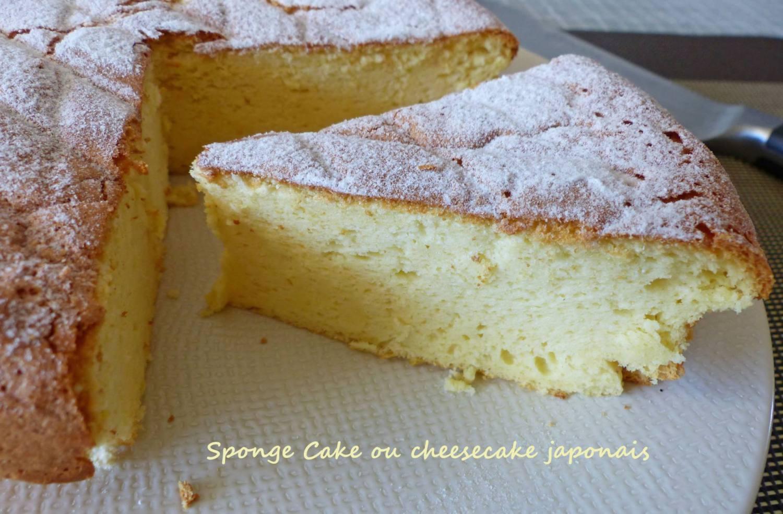 Sponge Cake ou cheesecake japonais P1230032 R