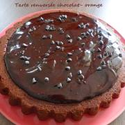 Tarte renversée chocolat- orange P1230204 R
