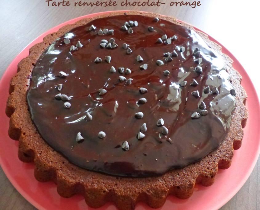 Tarte renversée chocolat- orange P1230204 R