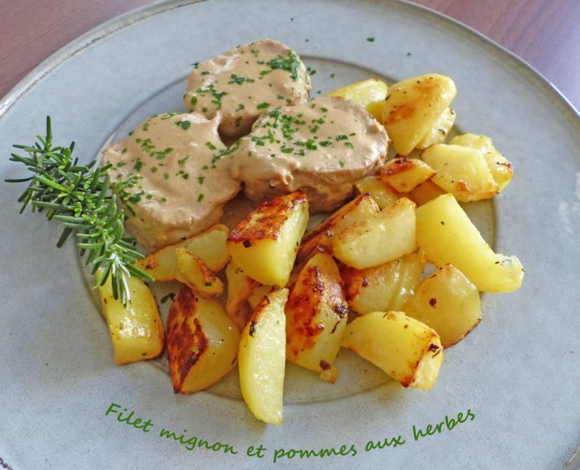 Filet mignon et pommes aux herbes P1230865 R