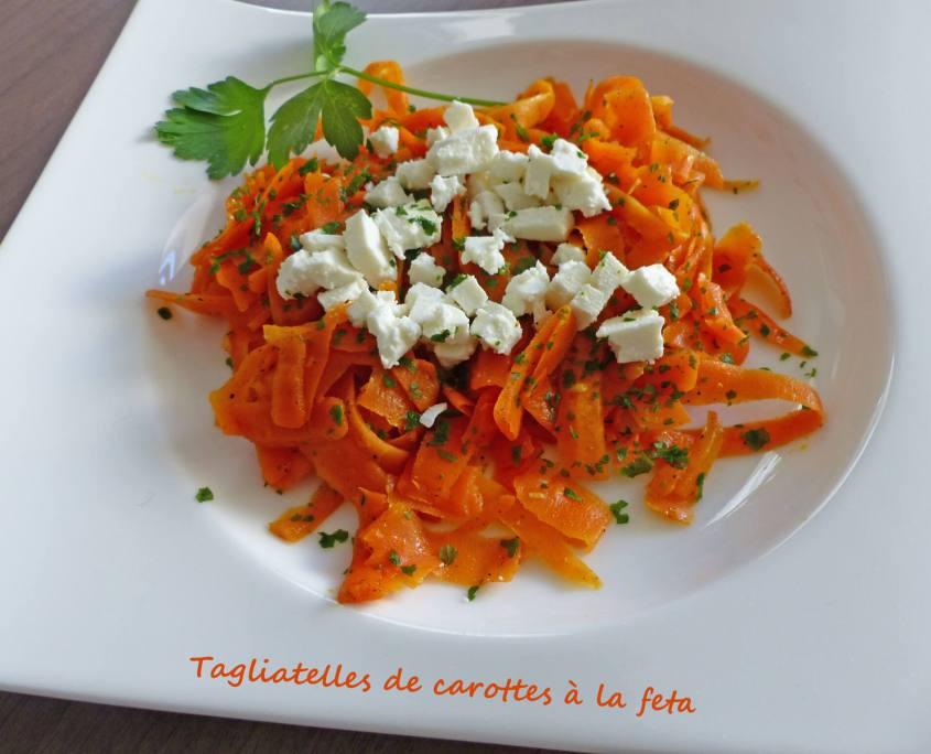 Tagliatelles de carottes à la feta P1230945 R