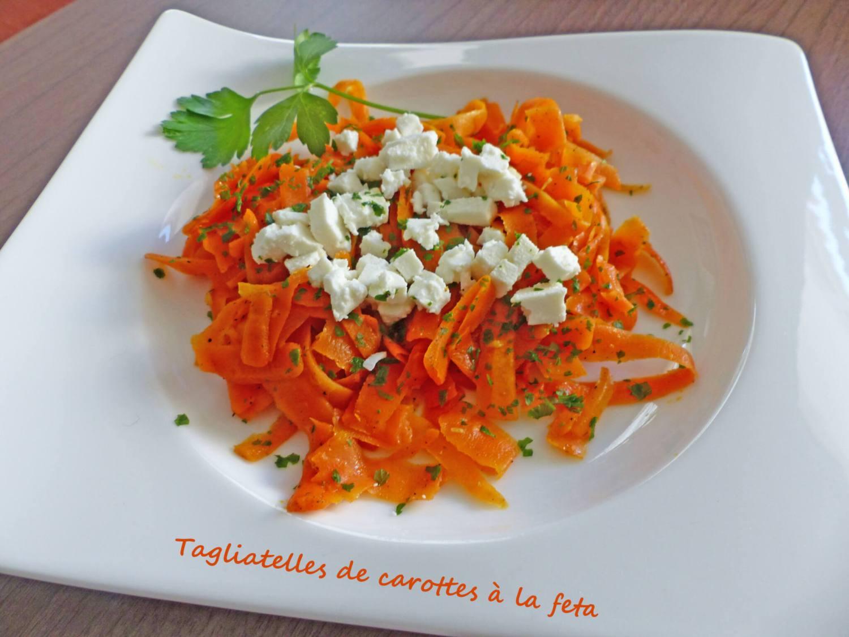 Tagliatelles de carottes à la feta P1230946 R