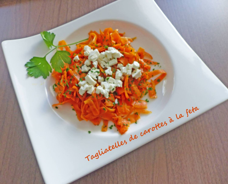 Tagliatelles de carottes à la feta P1230947 R