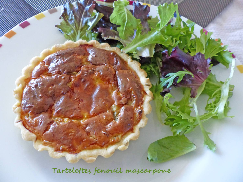 Tartelettes fenouil mascarpone P1240466 R