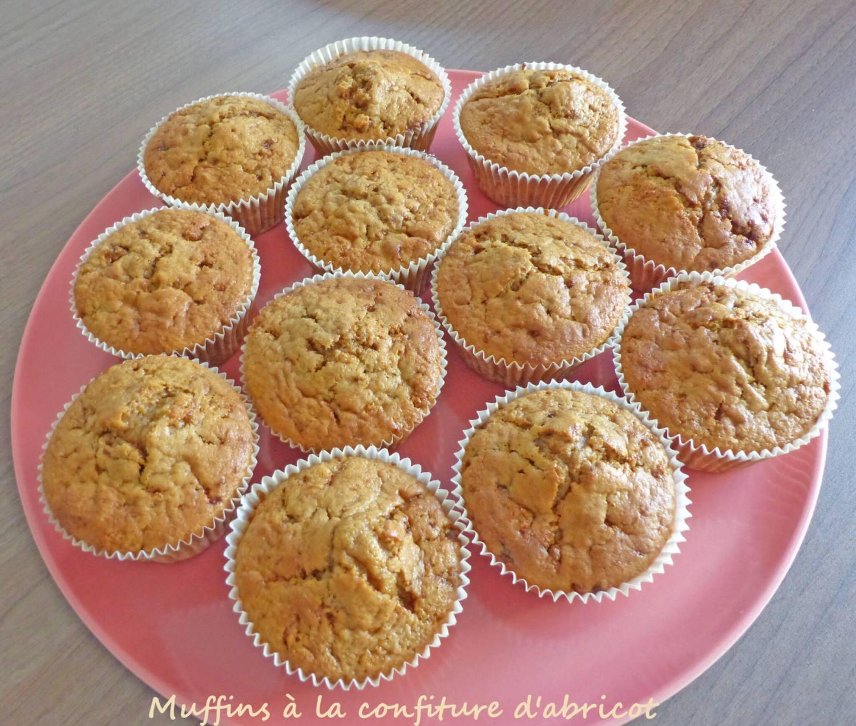 Muffins à la confiture d'abricot P1250184 R