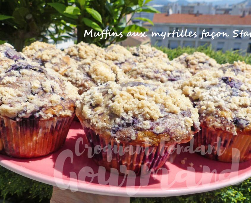 Muffins aux myrtilles façon Starbucks P1240801 R