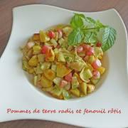 Pommes de terre radis et fenouil rôtis P1250233 R