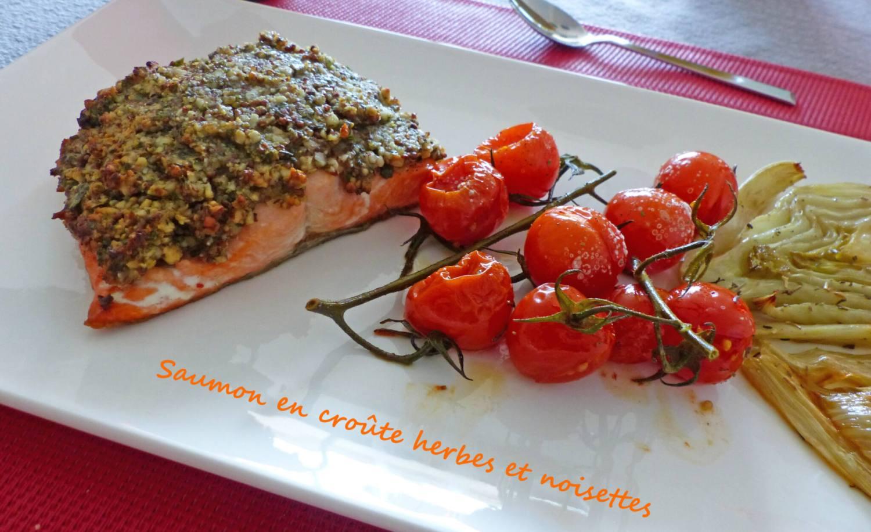 Saumon en croûte herbes et noisettes P1250152 R