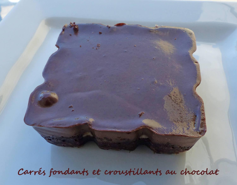 Carrés fondants et croustillants au chocolat P1250872 R