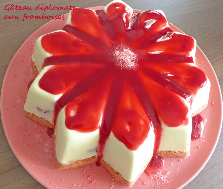 Gâteau diplomate aux framboises P1250899 R